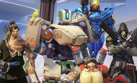 Overwatch was chosen as Game of the Year at 20th D.I.C.E. Awards