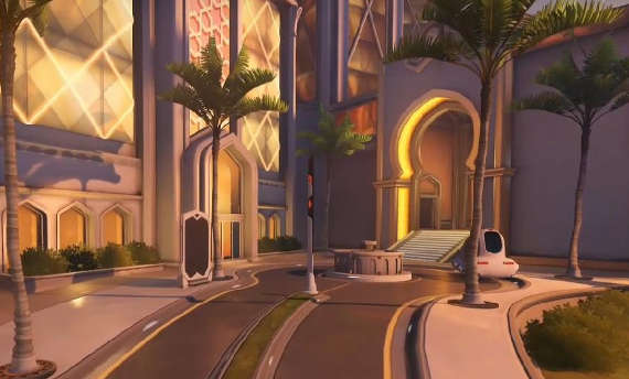 Oasis map is now available in Overwatch