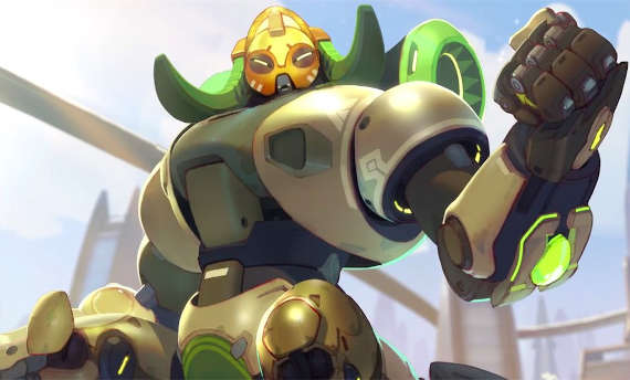 Orisa will join Overwatch on March 21st