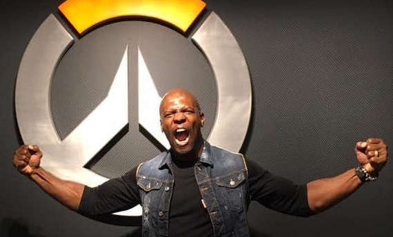 Terry Crews wants to become your next Overwatch hero