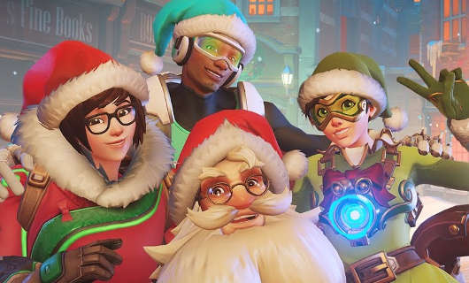 Overwatch's holiday event is now live