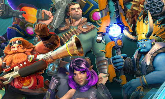 Paladins is now available for free on PlayStation 4 and Xbox One