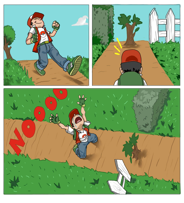 pokemon tree blocks the way