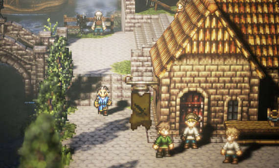 Project Octopath Traveler announced for Nintendo Switch