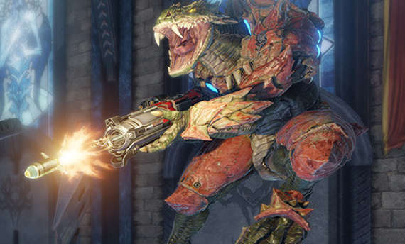 Quake Champions gets an open beta this week