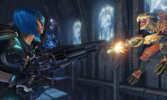 Quake Champions will be a free-to-play title