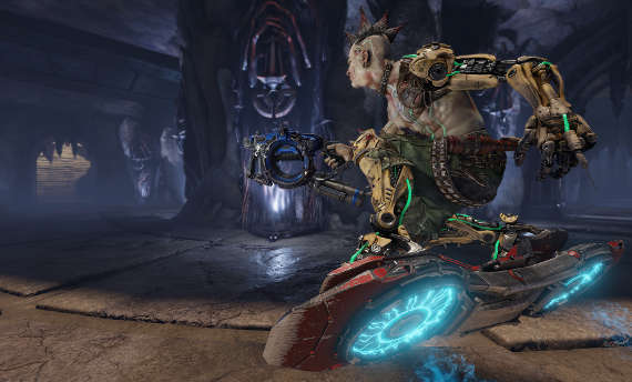 Watch some raw gameplay from Quake Champions