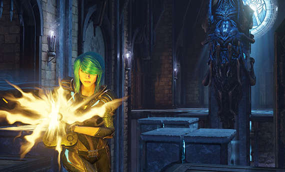 Quake Champions developers introduce stealthy Nyx