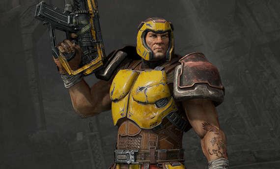 Ranger is the next hero revealed for Quake Champions