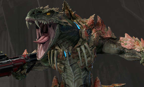 Meet Sorlag, another fighter from Quake Champions