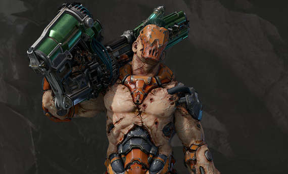 Meet Visor, yet another hero of Quake Champions
