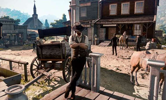 Rumor: This might be the first screen from Red Dead Redemption 2