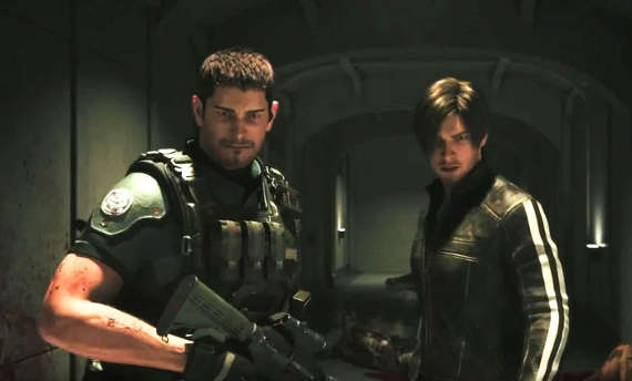 The Resident Evil: Vendetta movie has some sick action
