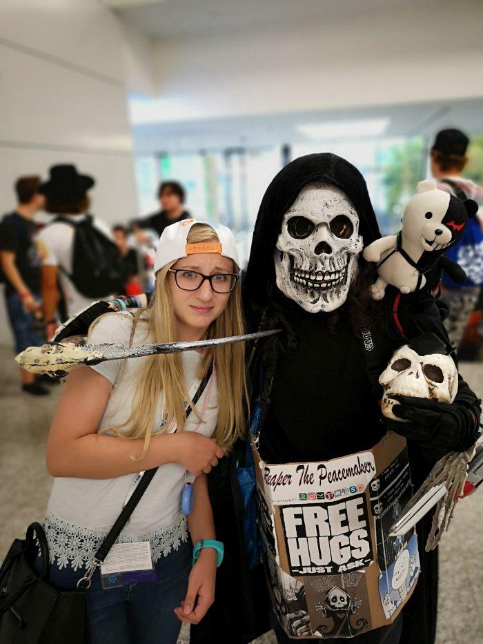 gamescom 2018 grim reaper cosplay