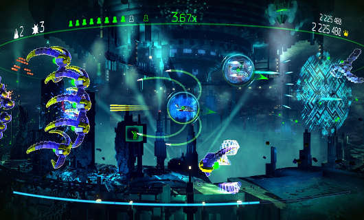 Resogun gets HDR and 4K support on PS4 Pro