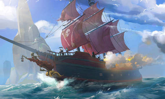 Sea of Thieves video explains the game's mechanics