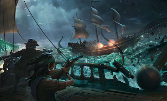 Sea of Thieves devs talk about the wider world