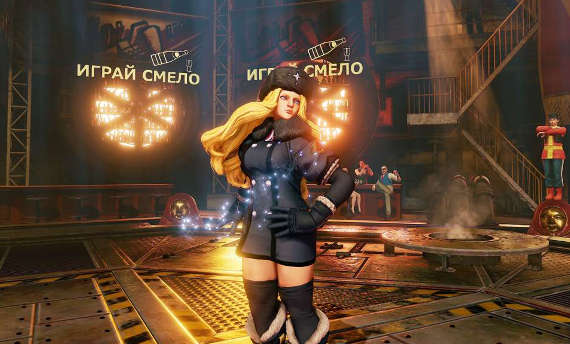 Street Fighter V introduces you to the newest character, Kolin