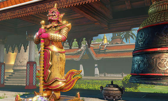 Street Fighter V is receiving the Thailand Stage