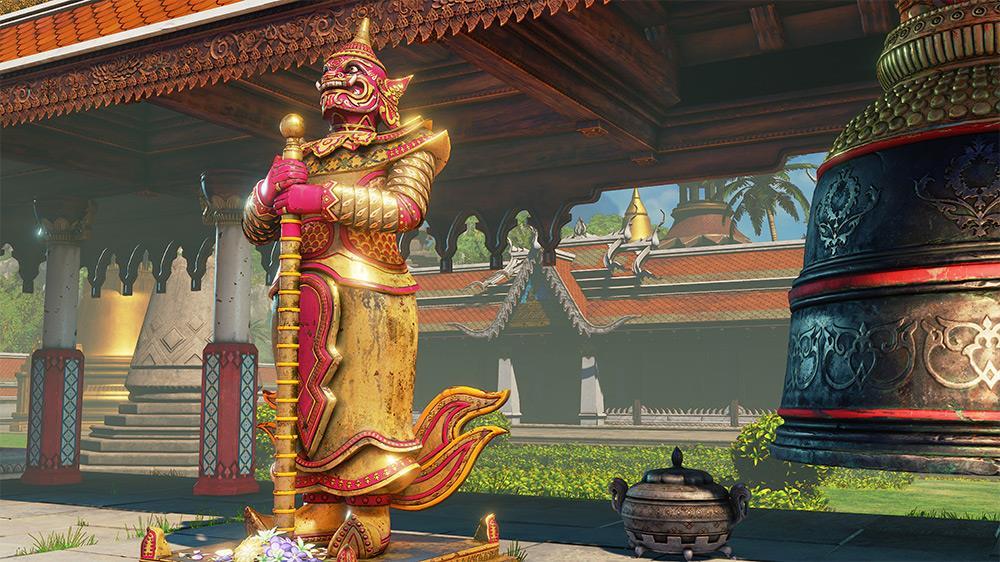 Street Fighter V - Thailand Stage