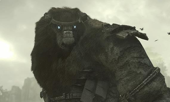 Shadow of the Colossus showed off in new trailer