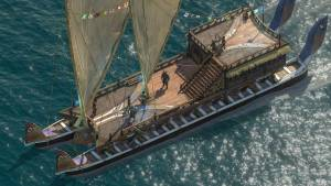 pillars of eternity ship at sea