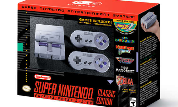 Super NES Classic Edition is a real thing