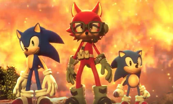 Sonic Forces lets you create your own hero