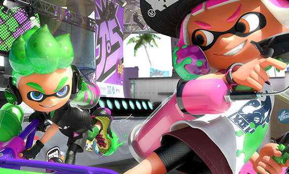 You'll be able to play through LAN in Splatoon 2