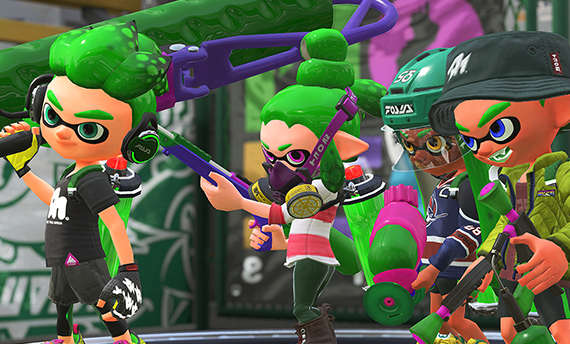Watch the TV ads for Splatoon 2