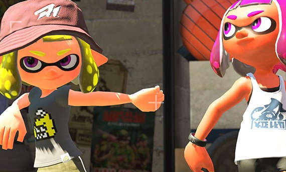 Get a glimpse of the single player mode in Splatoon 2