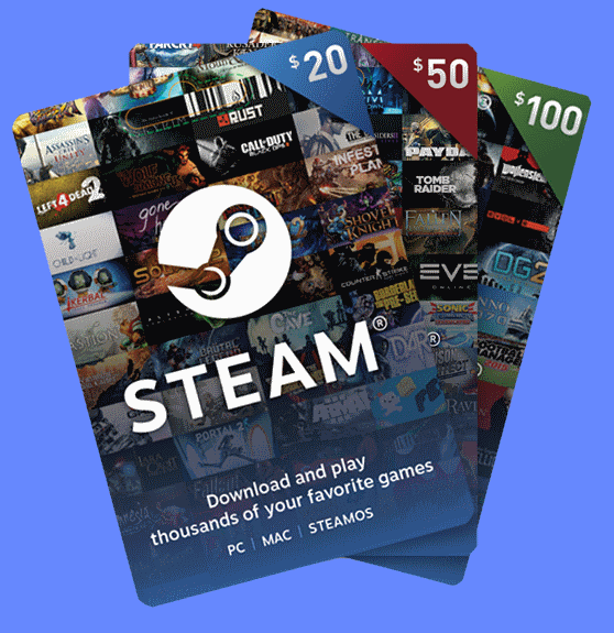 Steam Gift Cards