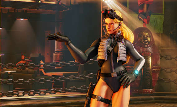 Kolin is the newest fighter joining Street Fighter V