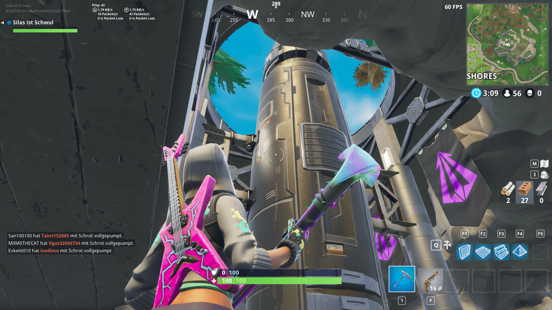 Fortnite missile silo