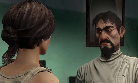 We escape from the Asylum in the gameplay from Syberia 3