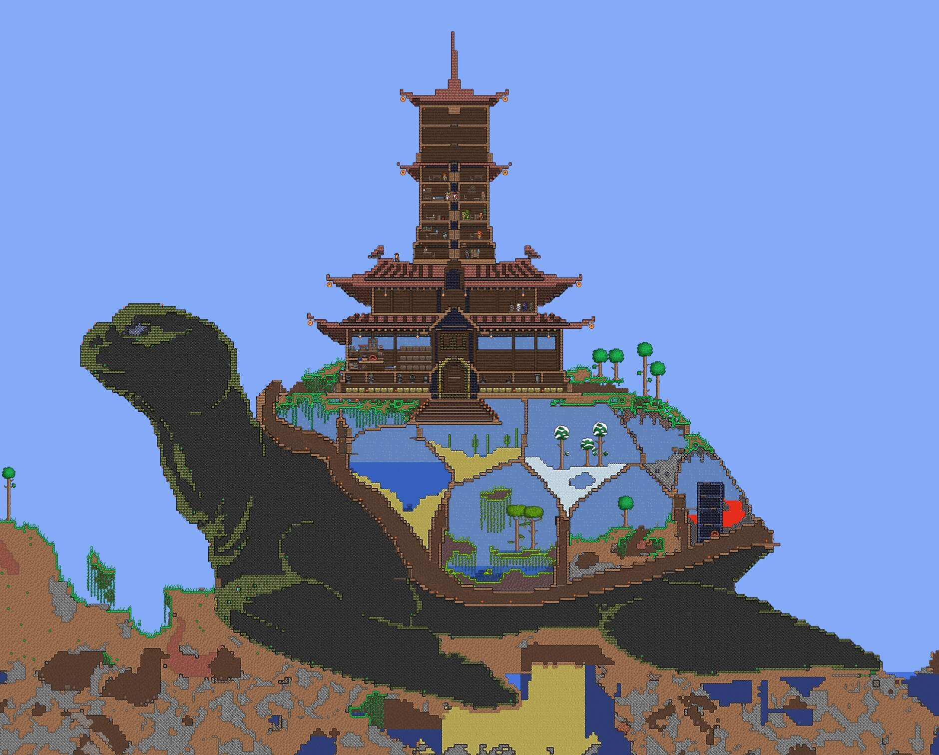 terraria homebase turtle