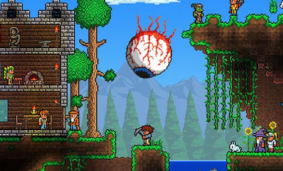 Terraria has sold more than 20 million copies