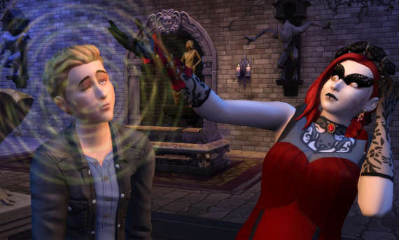 The Sims 4 gets bloody with the Vampires Game Pack