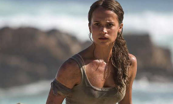 New photos from the upcoming Tomb Raider movie were published