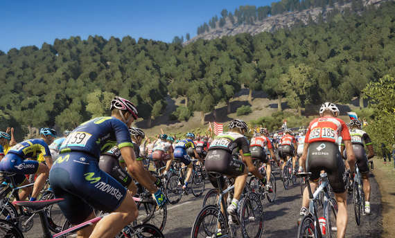 Watch the first gameplay trailer for Tour de France 2017