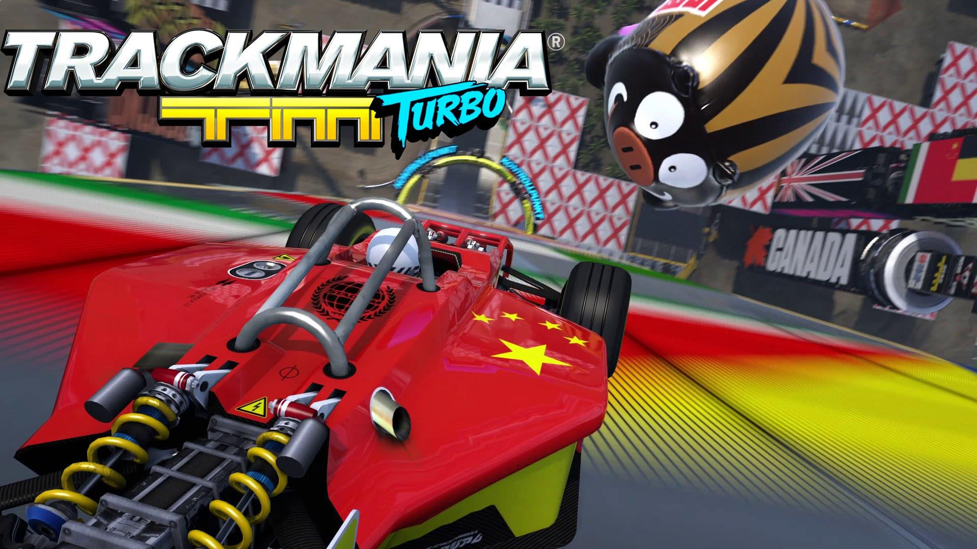 TrackMania Turbo now has VR