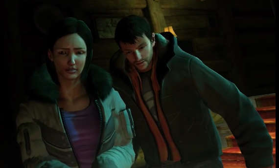Watch Until Dawn's gameplay as a PS3 prototype