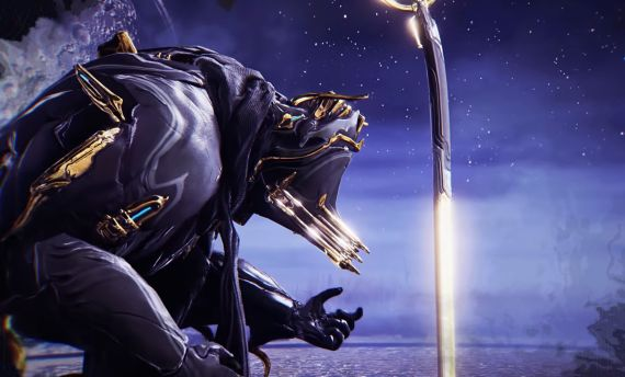 warframe sacrifice teaser with Excalibur Umbra