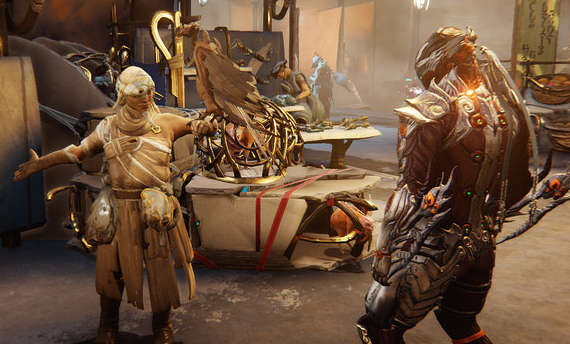 Warframe goes open world with Plains of Eidolon expansion