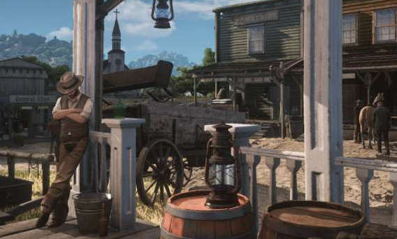 "Well, ""leaked"" Red Dead Redemption 2 is in fact Wild West Online"