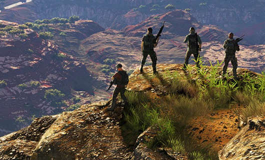 Check the map of Tom Clancy's Ghost Recon Wildlands