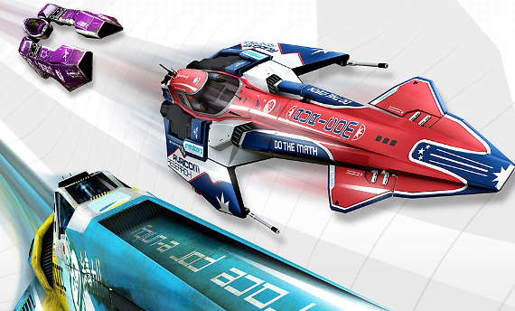 Watch the trailer for the WipEout Omega Collection