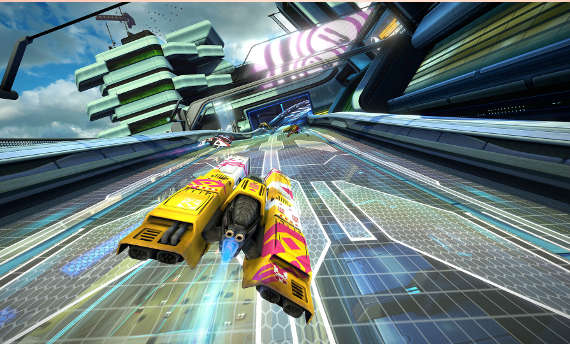 WipEout Omega Collection launches on PS4 in June