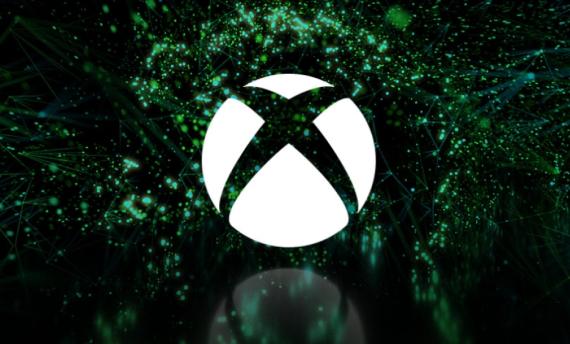 E3 2018 Microsoft conference sign