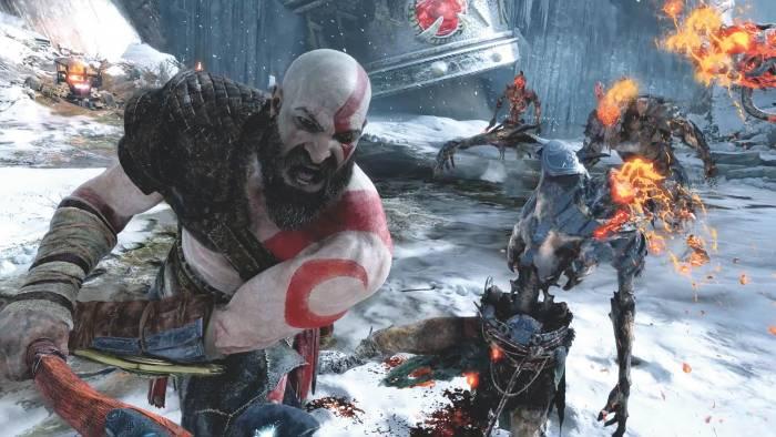 God of War combat
